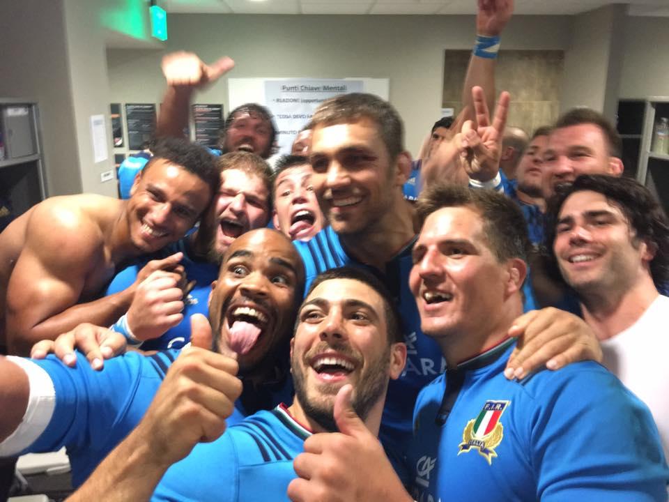 Italia batte USA test match 2016