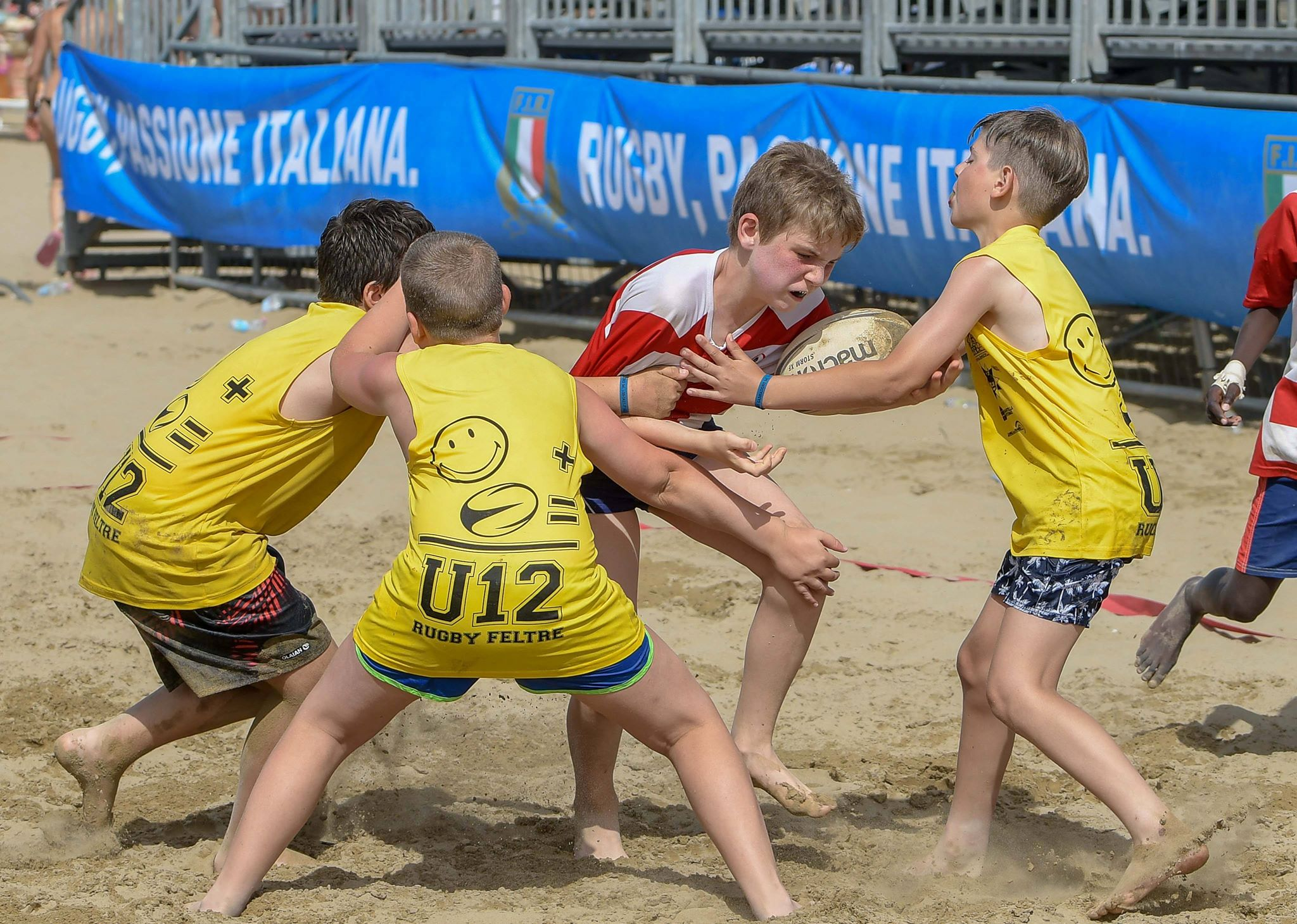 lignano junior beach rugby 2019