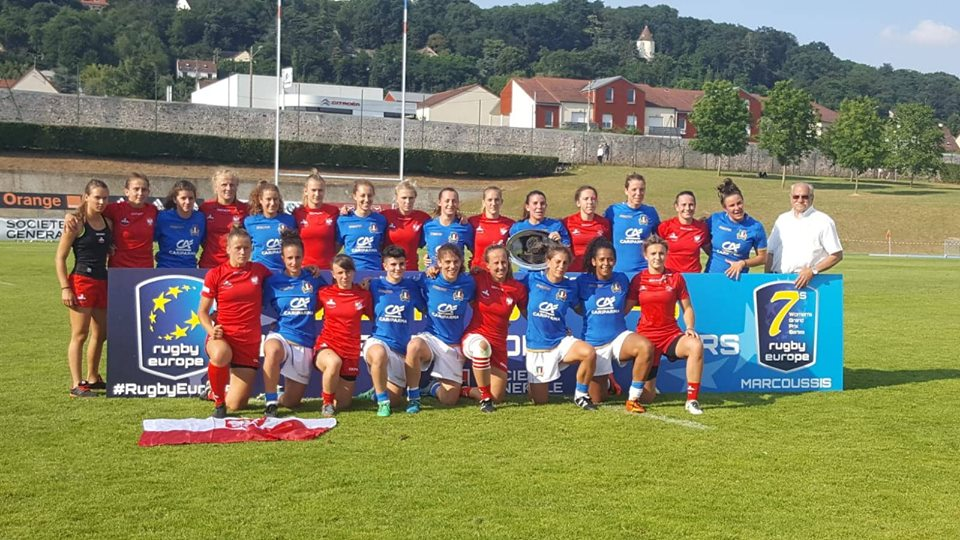 italseven femminile marcoussis 2018