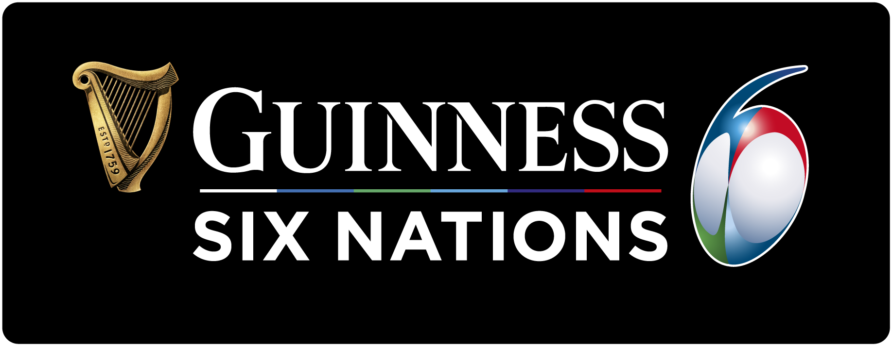 GUINNESS SIX NATIONS LANDSCAPE STACKED RGB